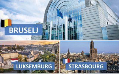 Strokovna ekskurzija v BRUSELJ, LUKSEMBURG, STRASBOURG, BRUGGE, COLMAR in RIQUEWIHR za zainteresirane dijake 2. A, 2. B, 3. S in 3. H