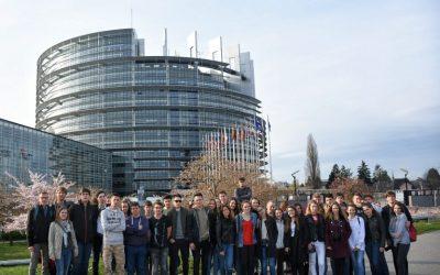 Strokovna ekskurzija v Bruselj, Luksemburg in Strasbourg