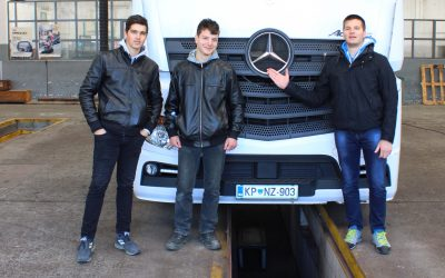 Seminar gospodarskih vozil na TIB Ilirska Bistrica
