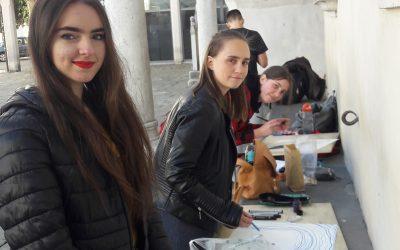 Naši likovniki v ožjem izboru na 10. mednarodnem  ekstemporu v Kopru
