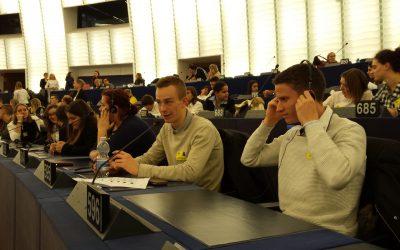 Evrošola v Evropskem parlamentu