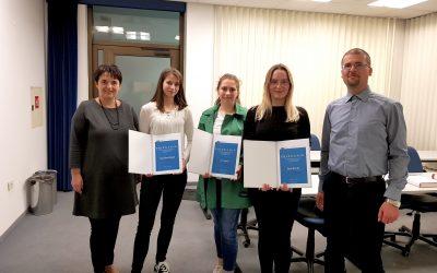 Podelitev priznanj in nagrad najboljšim z državnega tekmovanja iz znanja računovodstva
